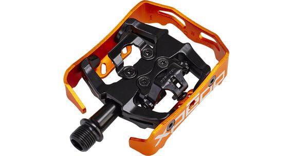 Xpedo Clipless Milo Pedal schwarz/orange